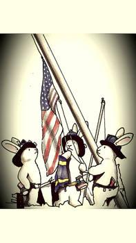 Bunny world  9/11 memorial