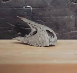 new rex skull WIP~