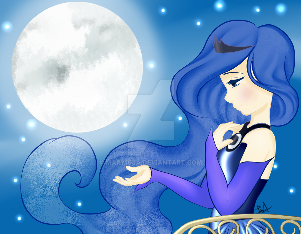 MLP~ Princess Luna FINISHED!!! YAY!!! by mary10ja