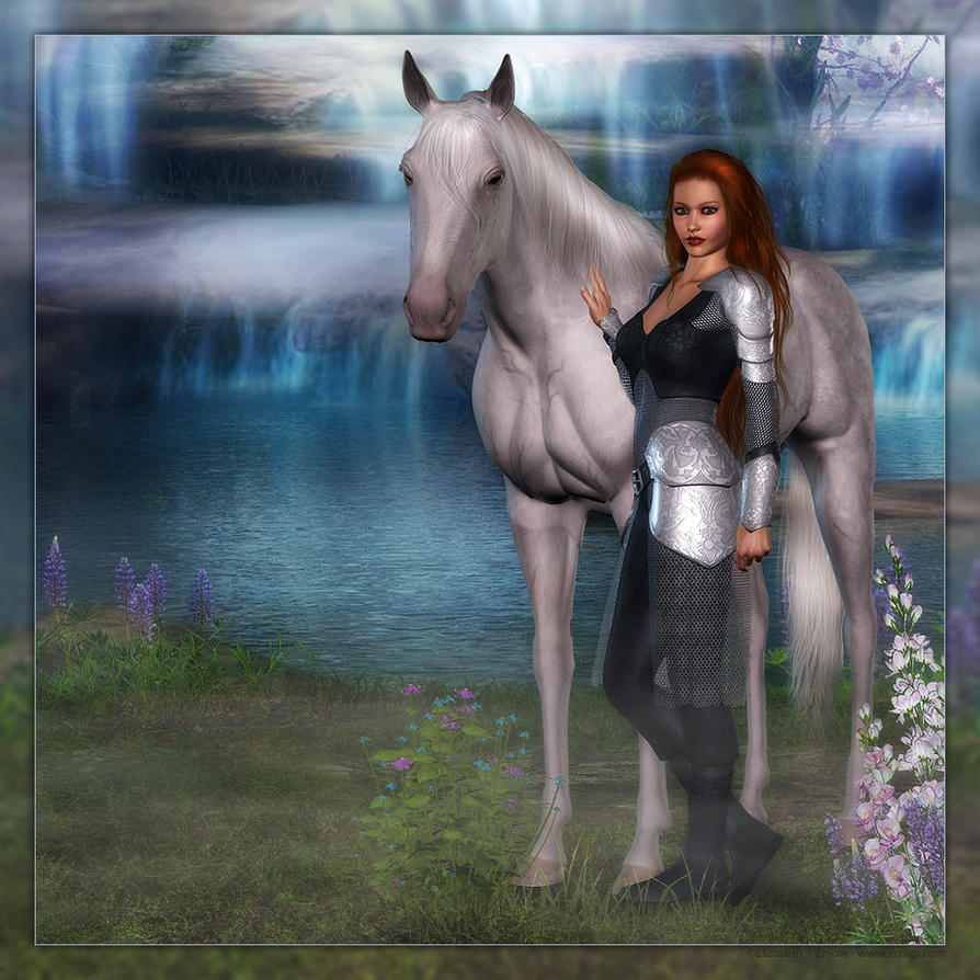The Lion of Thur A_Paladin_by_Sabreyn