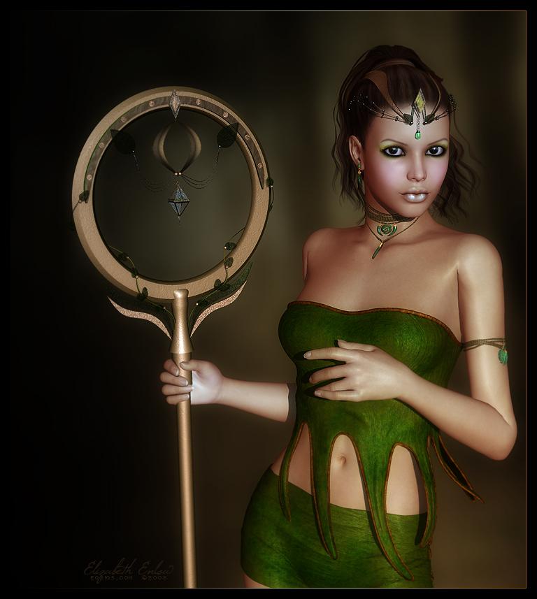 Katya, The Seeress by Sabreyn