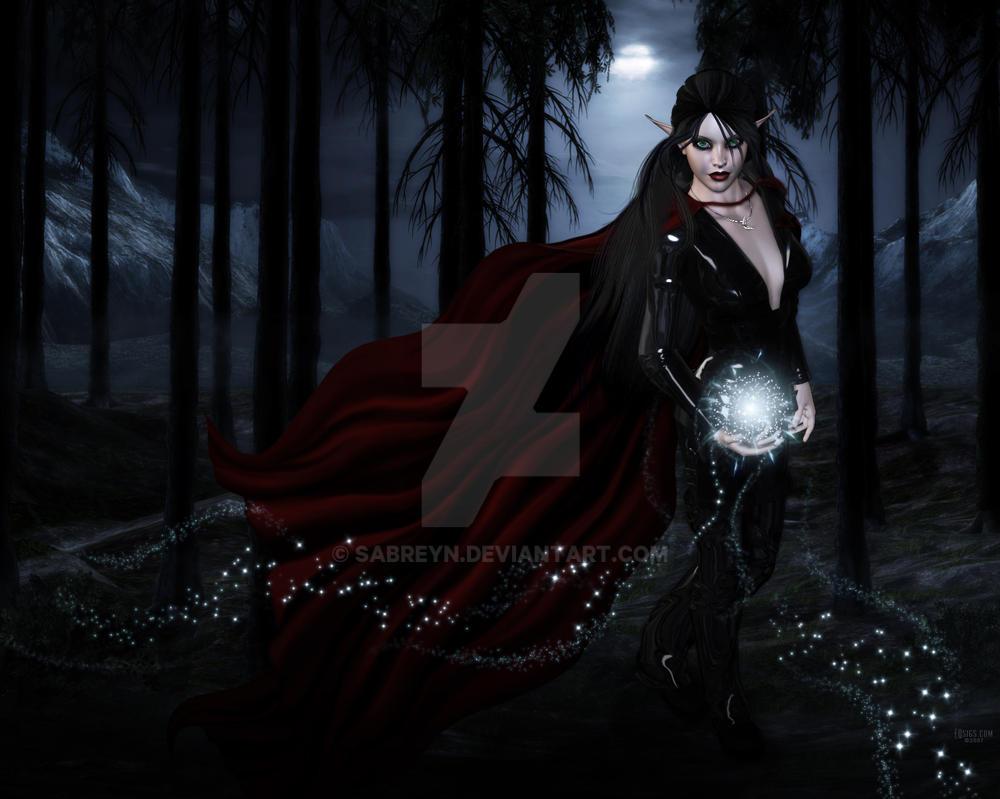 Selenebell59 - Sorceress by Sabreyn