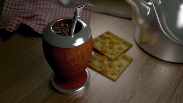Mate con galletitas