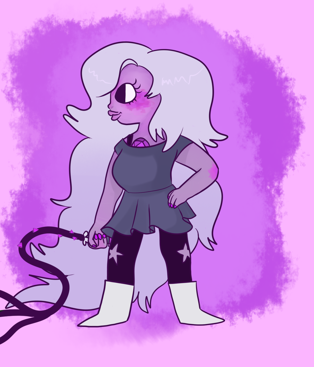 how to draw steven universe amethyst