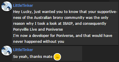Testimonial from Little Tinker by IBAIPshow
