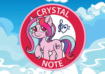 Crystal Note (Badge-1)
