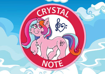 Crystal Note (Badge-2)