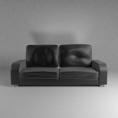 Leather Couch by JoeyBlendhead