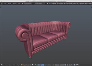 Chesterfield Couch ~ WIP