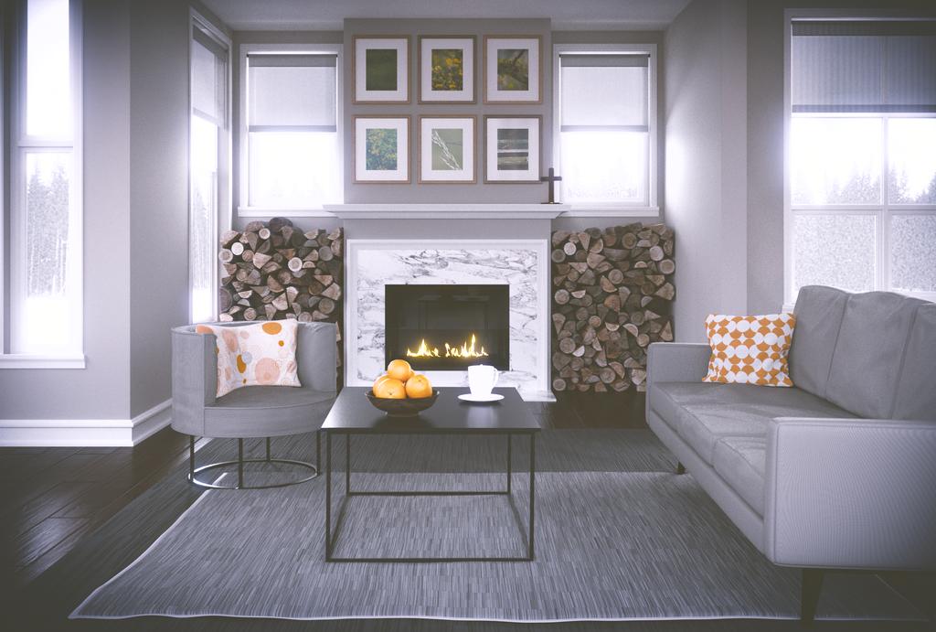 Modern Interior by JoeyBlendhead