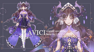 ADOPTABLE AUCTION | AVICI [CLOSE]