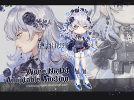 ADOPTABLE AUCTION | Vione 04 Black Rose [Open] by zakili17