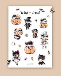(Sticker) Trick or Treat | Detective Conan