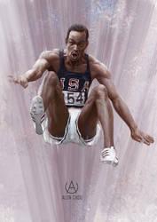 Olympic portrait - Bob Beamon