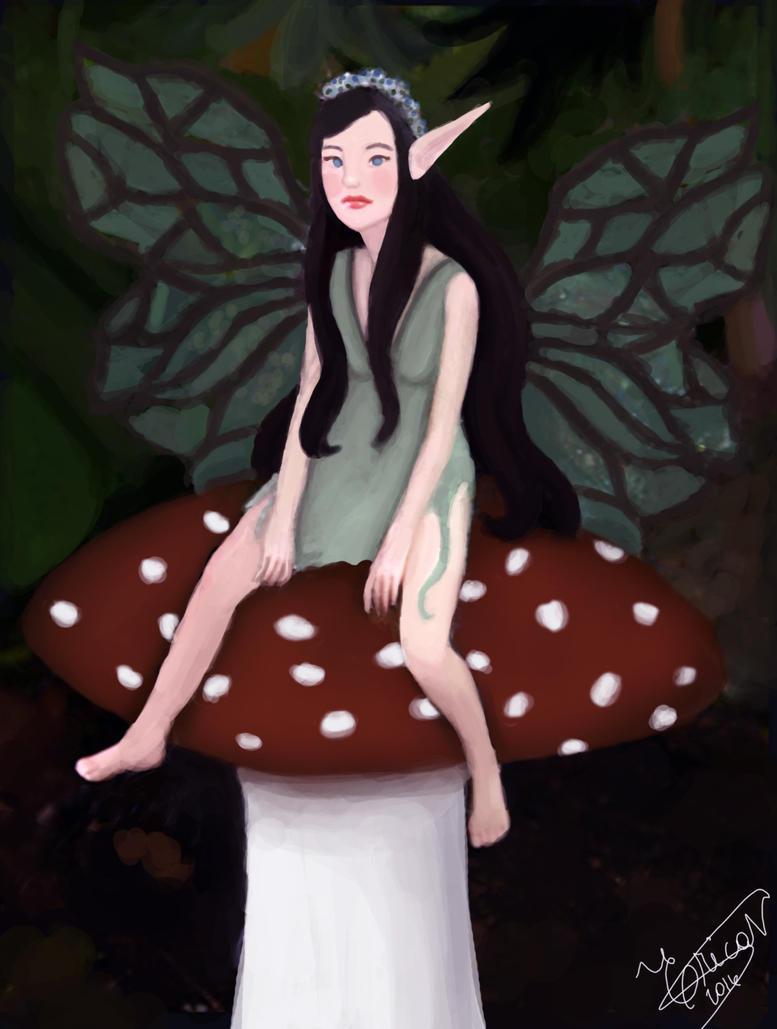 Faerie of Toadstools by KiihNascimento