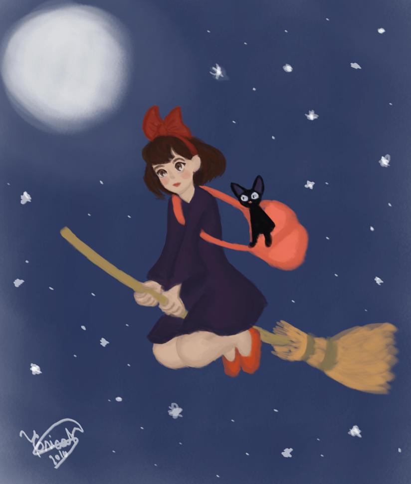 Kiki's Delivery Service by KiihNascimento