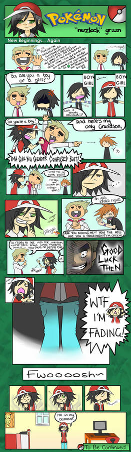 Pokemon 'Nuzlock' Green Pg1