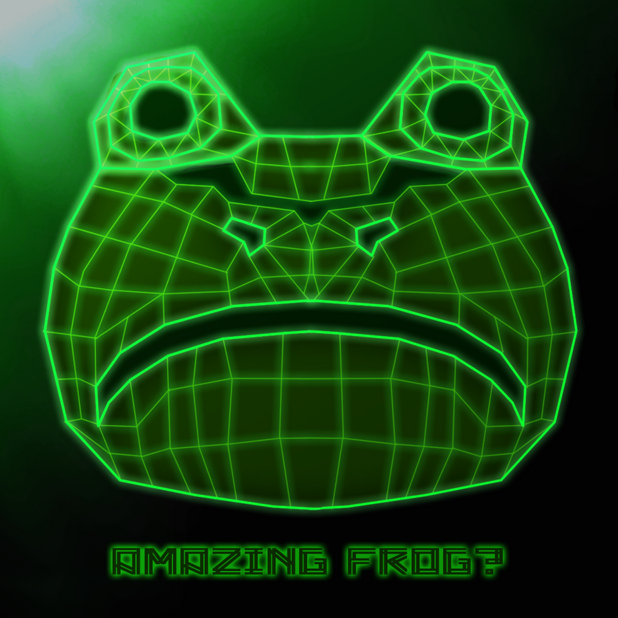 Amazing Frog: Virtual Frog By Zeron-DeviantArt On