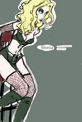 Mortia Fanart by CorinnaFaye