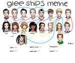 My Glee Ships by Amythegleelover12345