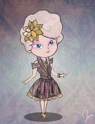Effie Trinket by jenalizzie