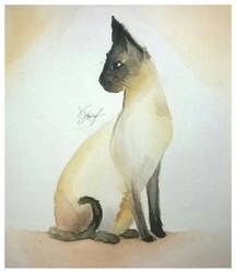 Cat painting  by TTunaFish