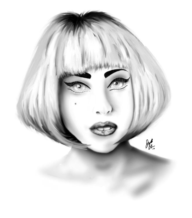 Lady Gaga by BMML