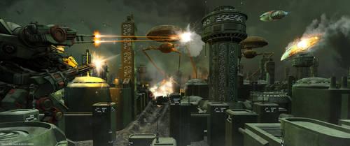 Battle for New Heaven by eart3d