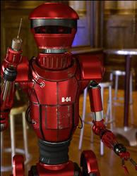 Droid (DAZ Studio IRay Render)