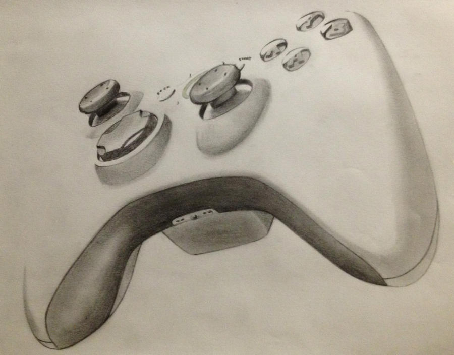 Xbox360Controller by HoustonTxArtist