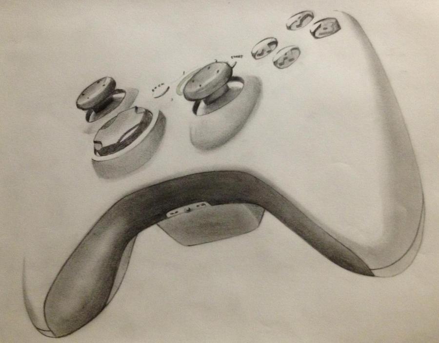 Xbox360Controller by HoustonTxArtist