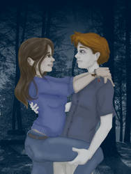 Edward and Bella by SnowSugarBunny
