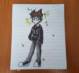 Teenager Tord!!!!!  by Antonia-Animation