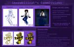 Commission Sheet 2020 by Shnowbilicat
