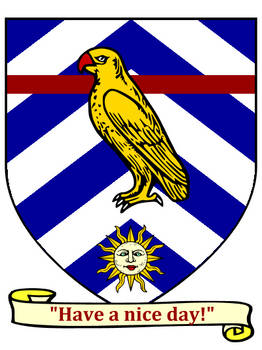 Coat of arms - Bowie the Ringneck
