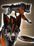 Halloween tailmouth wolfie [closed]