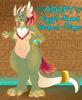 [SOLD] OTA Egypt themed Serpent Dragon