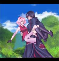 Itachi and Sakura by Mariyand-R