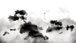 Bonsai in the Mist by Oceansayre
