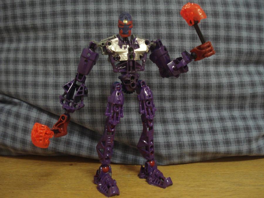 Bionicle-Kamen Rider Hibiki by andrell