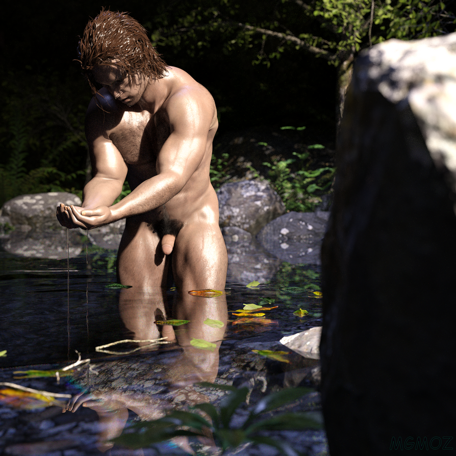 Forest Bather 2 by MGMOZ
