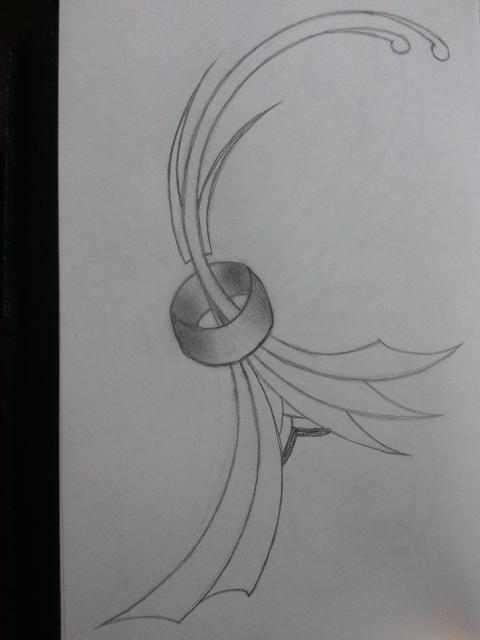 Ring scribble by IrishArtiste