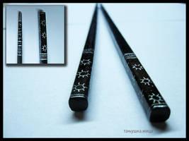 hair chopsticks 01 by tanjii