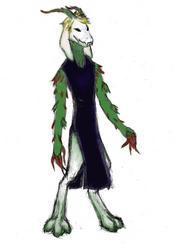 (Crimson Marionette) Flowey