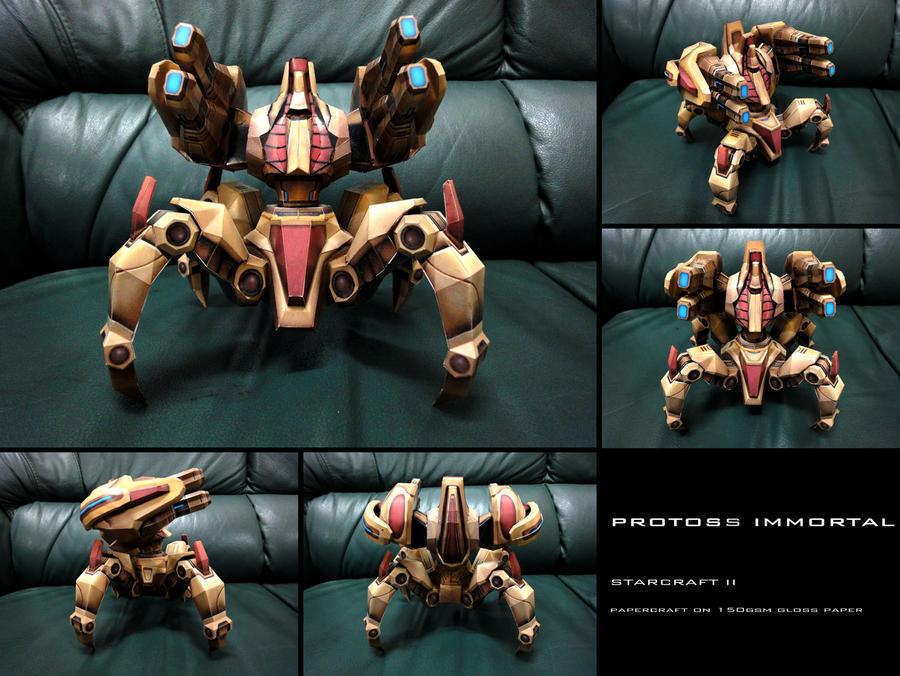 Protoss Immortal - StarCraft II by invictuzz688