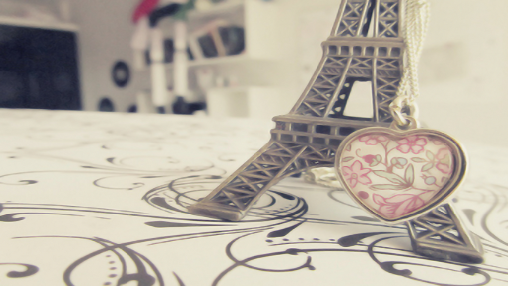 I Love Paris Wallpaper cartoon : Wallpaper love paris -Nonu- by Nonuu on DeviantArt