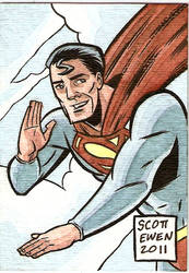 Superman ATC 2 Color by ScottEwen