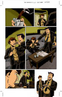 The Sundays #3 page 2 colors by ScottEwen