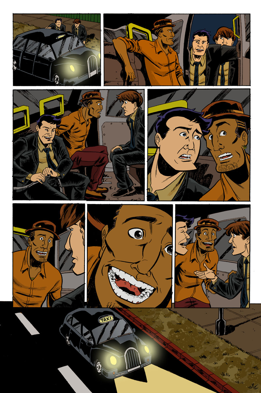 The Sundays #3 page 3 colors by ScottEwen