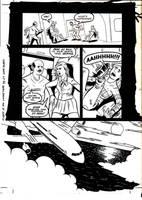 Flight o Living Dead pg24inks by ScottEwen